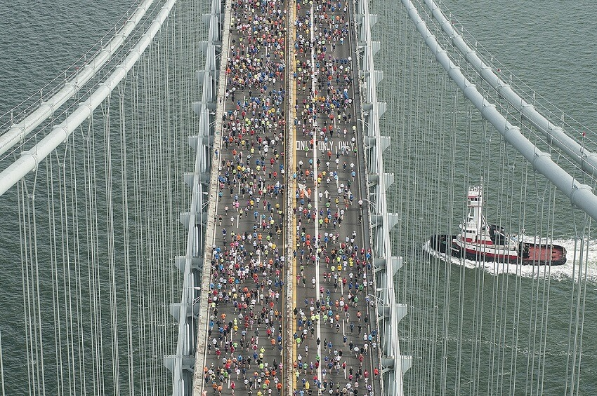 Marathons populaires, New York
