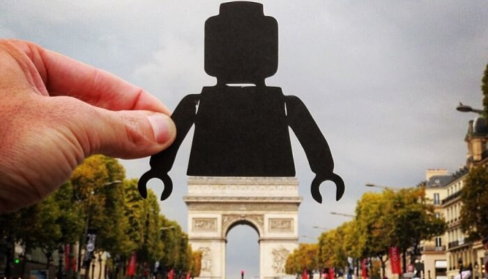 Rich McCor, Paperboyo, photos, morceaux de papier