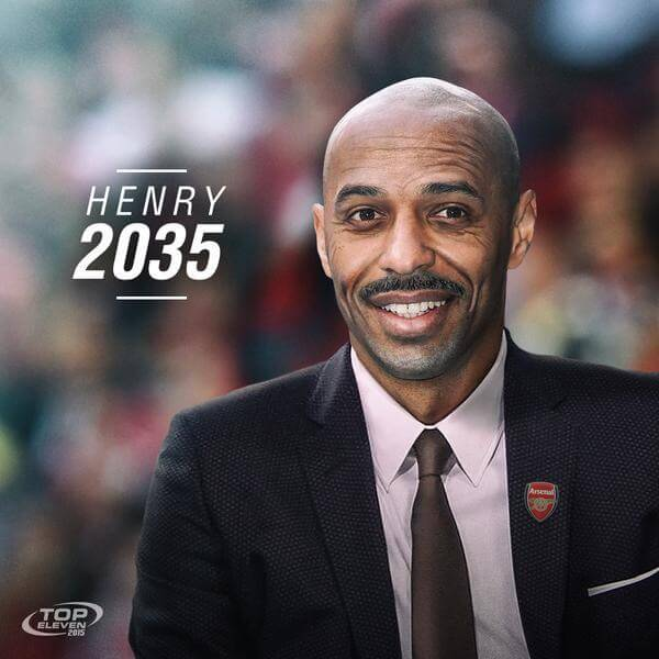 Top Eleven Thierry Henry