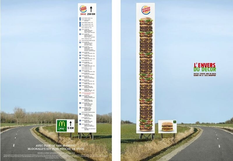 Campagne publicitaire Fast-Food