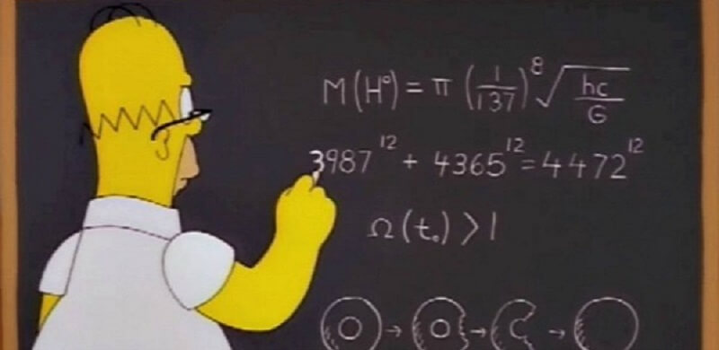 Formule, Boson, Simpsons