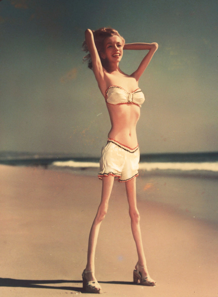 Marilyn Monroe anorexique