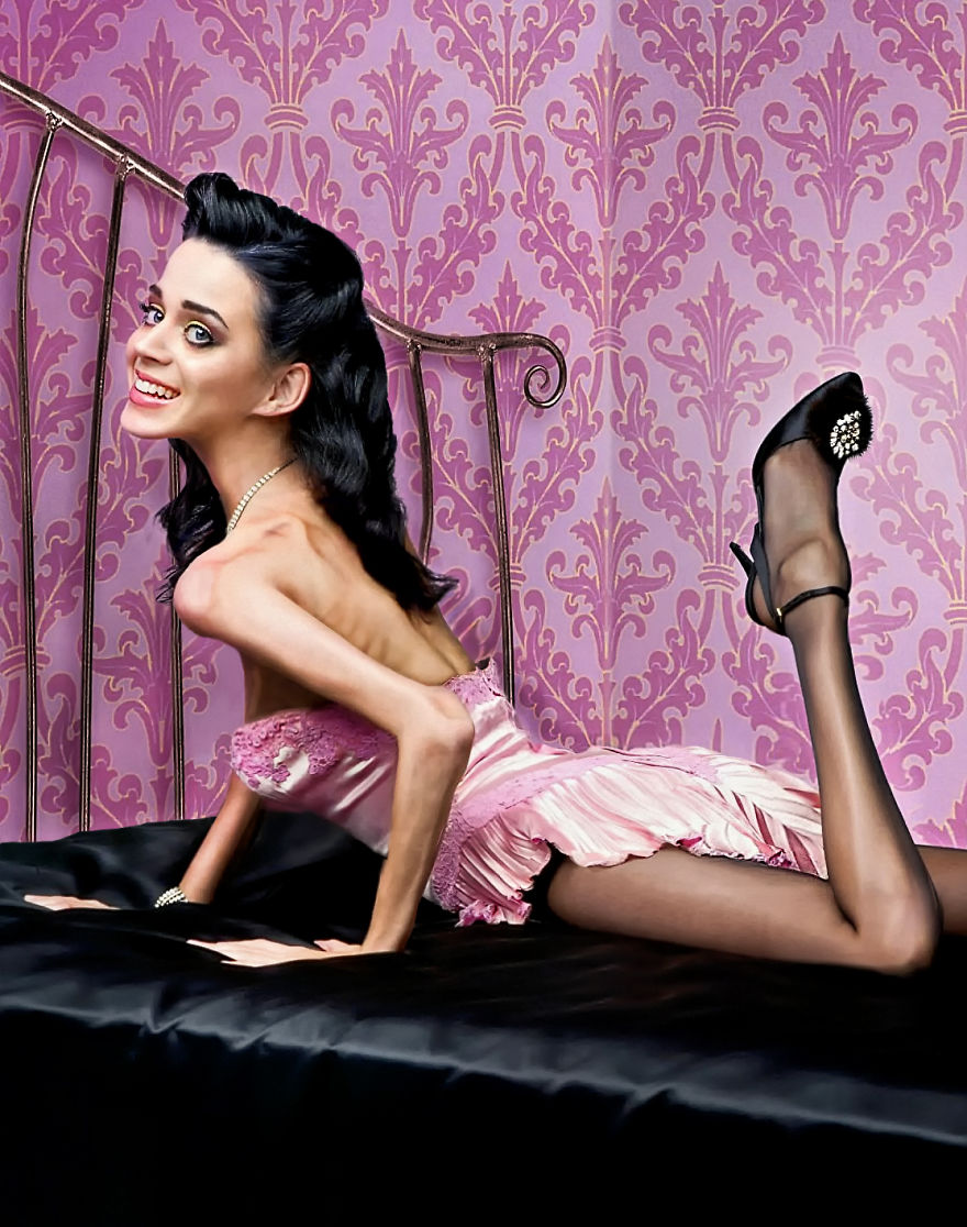 Katy Perry anorexique