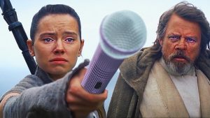 Rey, Luke Skywalker, All by Myself, Celine Dion