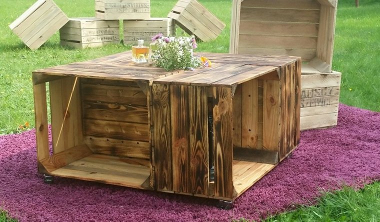 Table De Salon En Palette Bois. Stunning Table De Salon En ...