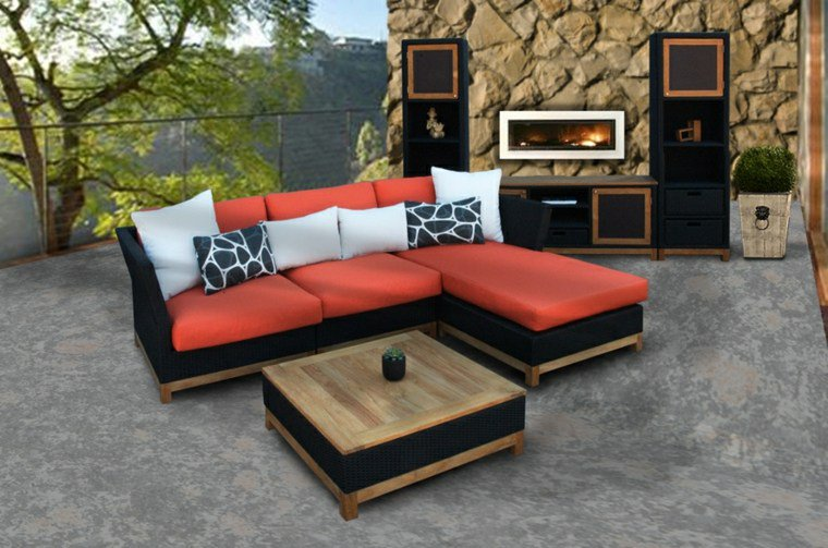 50 id es originales pour fabriquer votre salon de jardin. Black Bedroom Furniture Sets. Home Design Ideas
