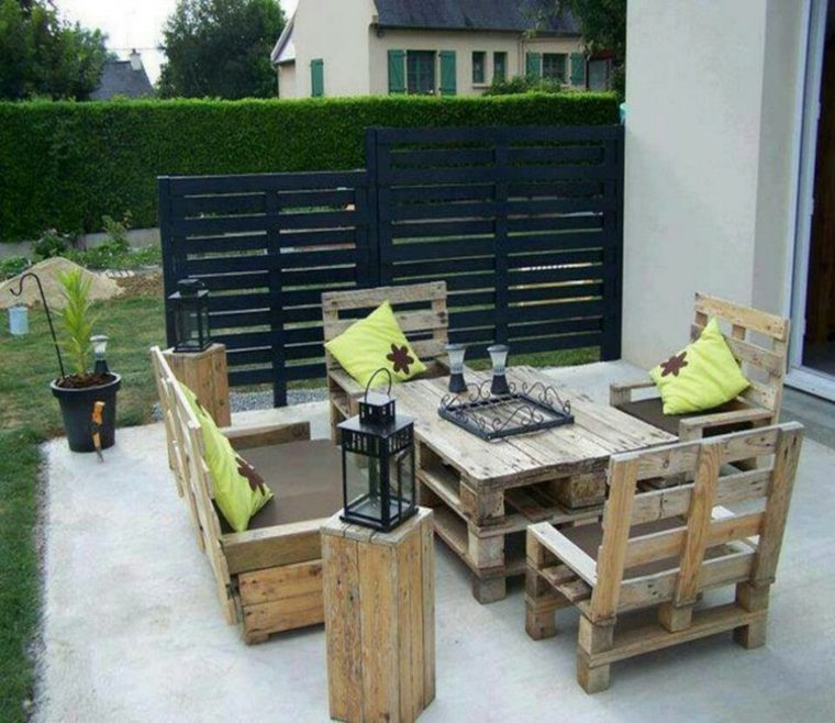 salon de jardin a fabriquer des id es. Black Bedroom Furniture Sets. Home Design Ideas