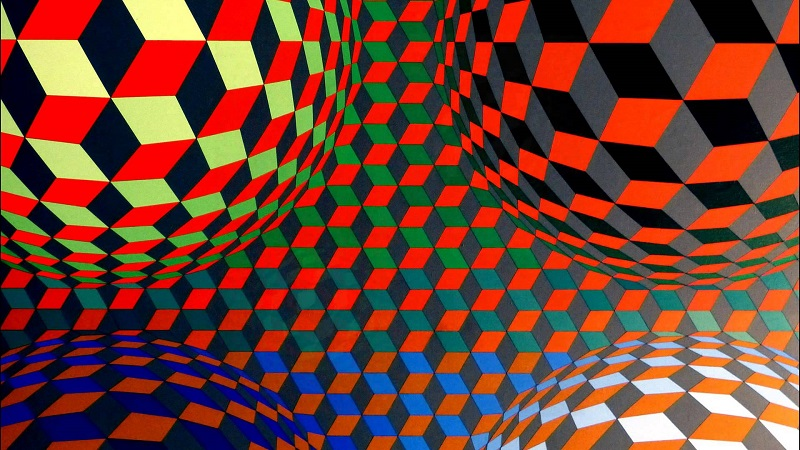 Op-Art, Vasarely